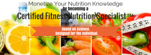 Monetize Your Nutrition Knowledge