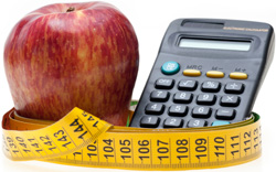 apple and calculater