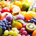 fresh fruits and vegetables, fructose