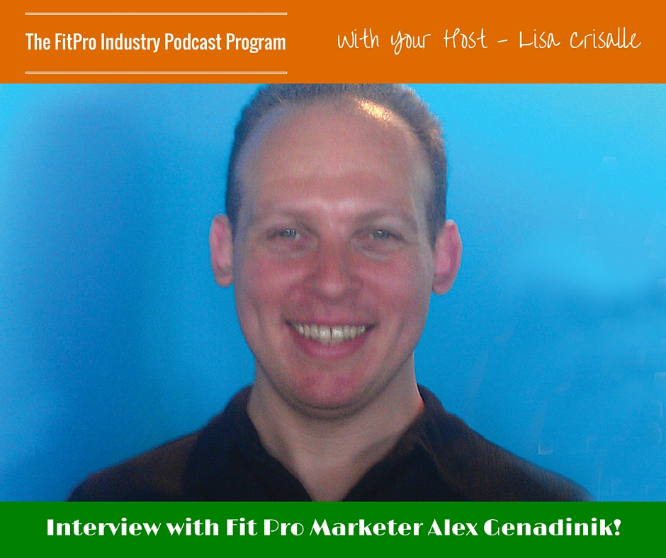 FitPro Industry Podcast Interview withAlex Genadinik