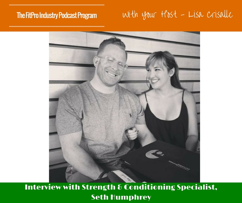 FitPro Industry Podcast Interview with Seth Humphrey