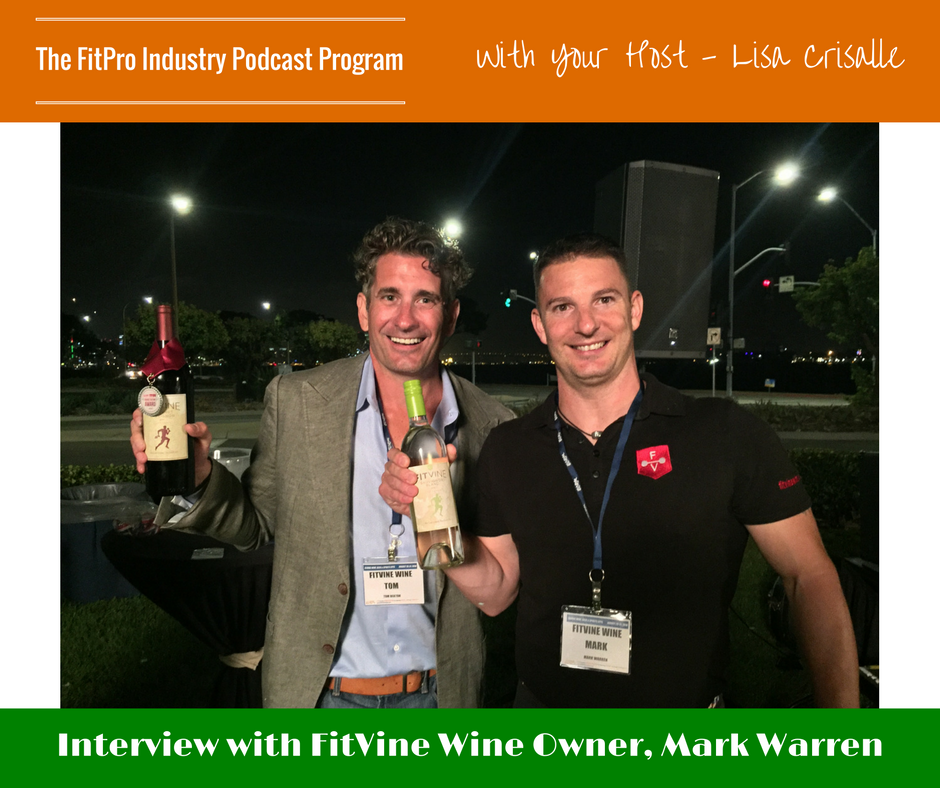 FitPro Industry Podcast Interview with Mark Warren